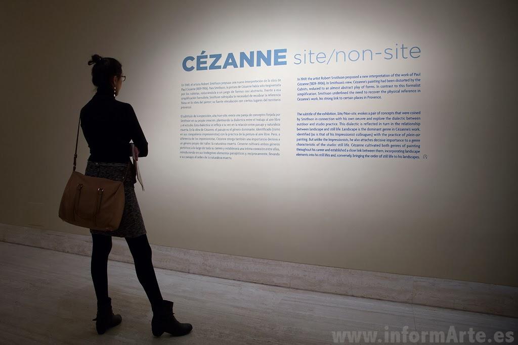 Exposición de Cézanne, Museo Thyssen