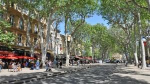 Aix en provence sur de francia