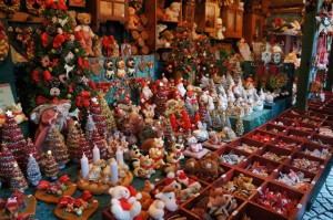 decoraciones de navidad del mercado de estrasburgo
