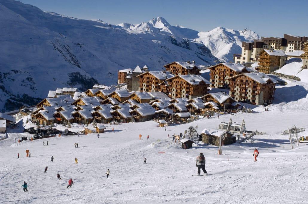 Deportes de invierno en Francia les arcs